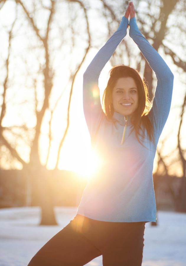 Benefícios da prática do yoga no inverno
