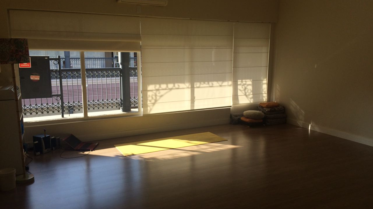 Espaço Essência Yoga - Sala para prática de Yoga