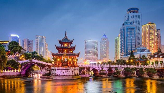 Imagem de cidade de Guiyang na China