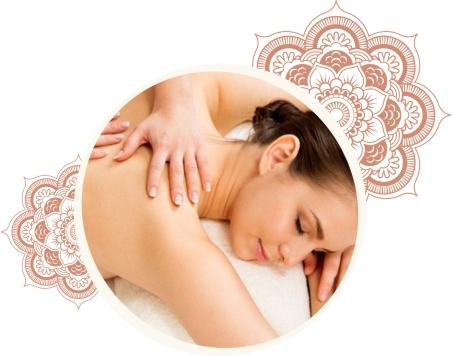 Massagem relaxante e energética