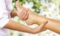 Massagem para relaxamento dos pés
