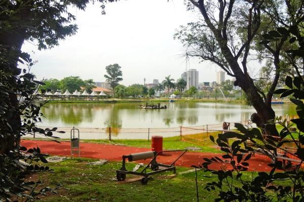 Parques em Barueri: Área verde do parque municipal Dom José